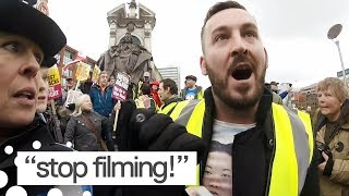 Yellow Vest Protester James Goddard Assaults UK Journalist