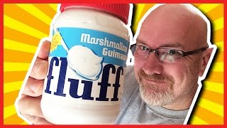 One Man, One Jar of Fluff - 745 Calories of Dessert Topping