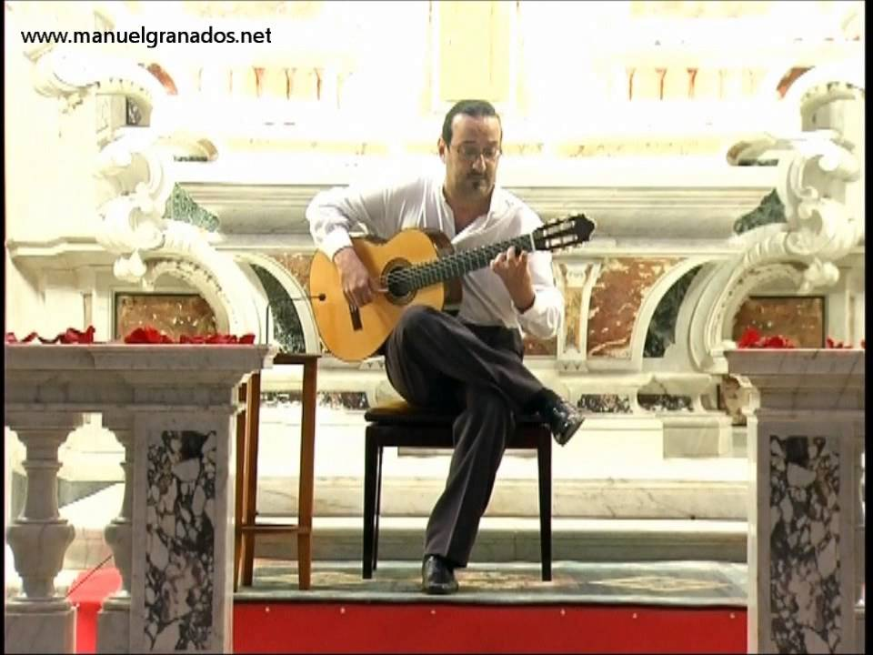 """Download MANUEL GRANADOS interpreta """"Recuerdos de la Alhambra"""""""