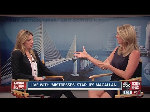 Jes Macallan from ABC's Mistresses