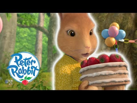 Peter Rabbit - Cottontails Birthday Cake | Cartoons for Kids
