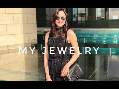 Моя коллекция украшений. Chanel, Tiffany, Pandora, Tous, Грузинские дизайнеры
