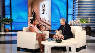 Ellen Recreates Viral Photo with Young Michelle Obama Fan thumbnail