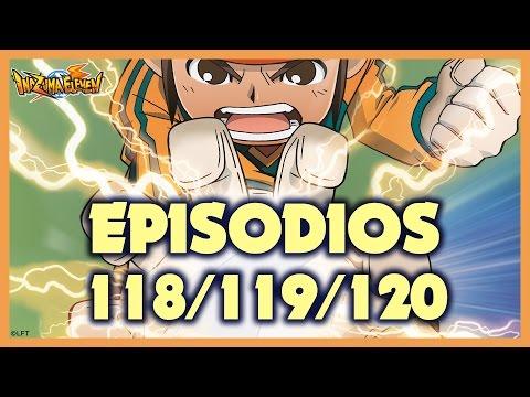 Episodios 118, 119 y 120 de Inazuma Eleven. Más de una hora de diversión!!!