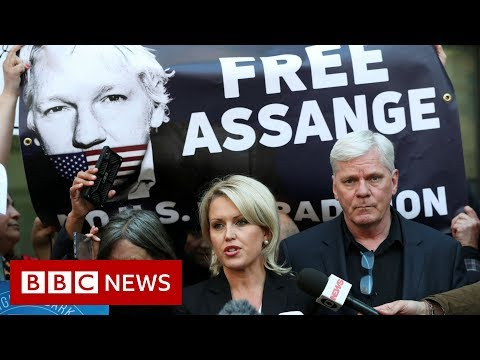 "Assange's lawyer: Arrest set a ""dangerous precedent"" - BBC News"