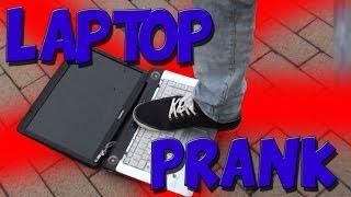 Laptop Prank met ENZOKNOL