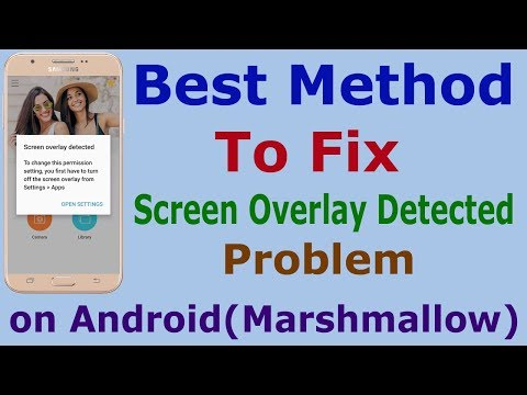 [Nepali] FIX Screen Overlay Detected In Android Marshmallow, Best Way, Android App Review