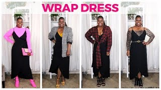 HOW TO STYLE A WRAP DRESS (SPRING TRANSITION STYLES)