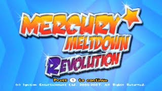 Mercury Meltdown Revolution Wii Gameplay