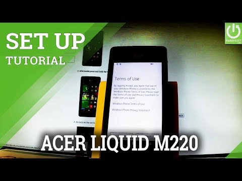 How to Activate ACER Liquid M220 - Get Your Windows Phone Ready
