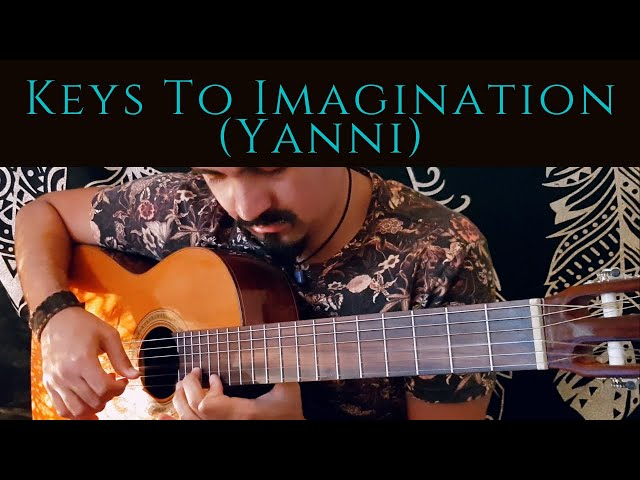 Keys to Imagination on Classical Guitar (Yanni) by Luciano Renan *With Electric Guitar Solo*