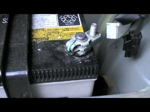 Changing 12 Volt Battery In 2001 Prius