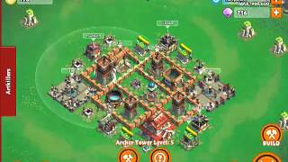 Samurai Siege Castle Level 4 Farming Base Layout