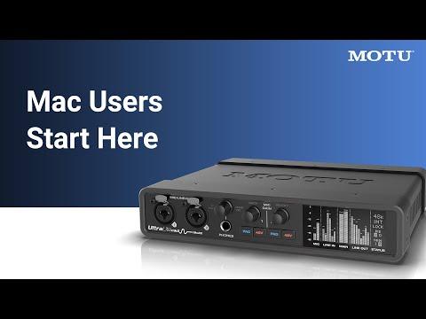 UltraLite-mk5 Mac users: start here