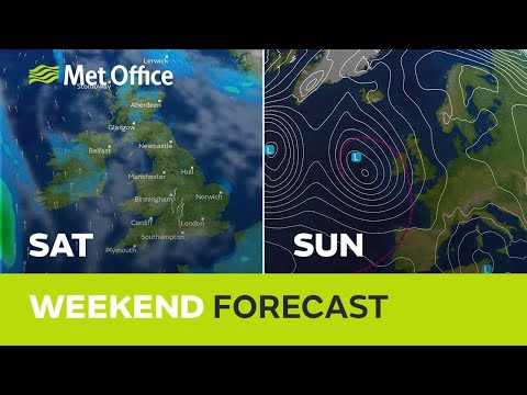 Weekend weather – feeling warmer but not entirely dry