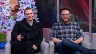 Seth Rogen, James Franco Discuss Their Controversial Roles in 'The Interview'