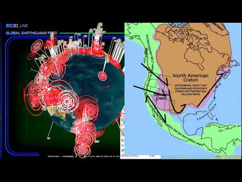 3/28/2018 -- Plates in motion -- Earthquakes spread across W. Pacific -- West Coast USA slow slip