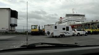 Sailing to TASMANIA on the Spirit.