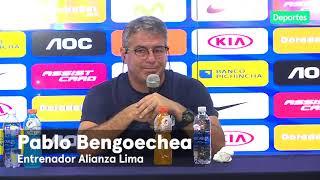 Alianza Lima: el análisis de Pablo Bengoechea tras caer ante Millonarios en la Noche Blanquiazul