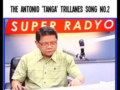 "Trillanes second song ""TL""(tanga lang)"