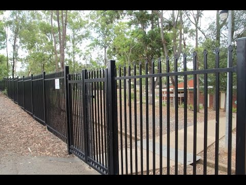Bluedog Securatop 174 School Security Fence And Gate System