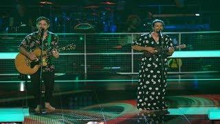 The Voice of Romania 2018 Andrei Voicu vs Claudiu Falamas Set Fire To The Rain (Video)