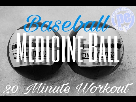 20 minute Baseball Medicine Ball Circuit Workout - Pitchers