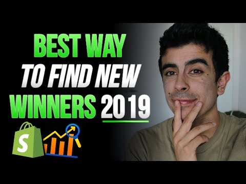 Best Way To Find New Winning Products in 2019   Shopify Dropshipping thumbnail