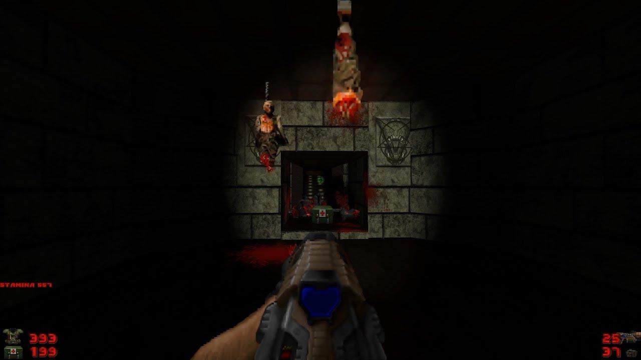 Doom - Episode 3: Inferno [Brutal Doom: Black Edition v3 1d + Doom 3  Experience]