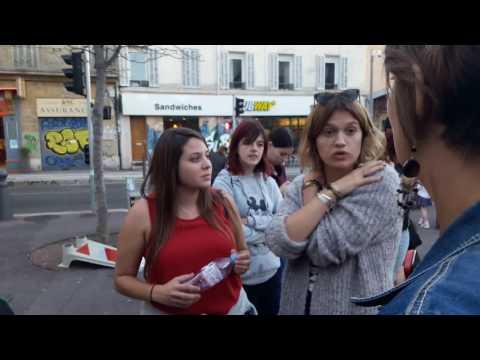 Porteur de paroles Marseille - Métro
