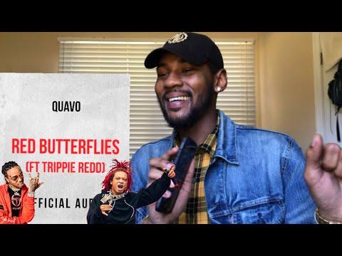 Quavo ft Trippie Redd - Redd Butterflies   🔥 REACTION