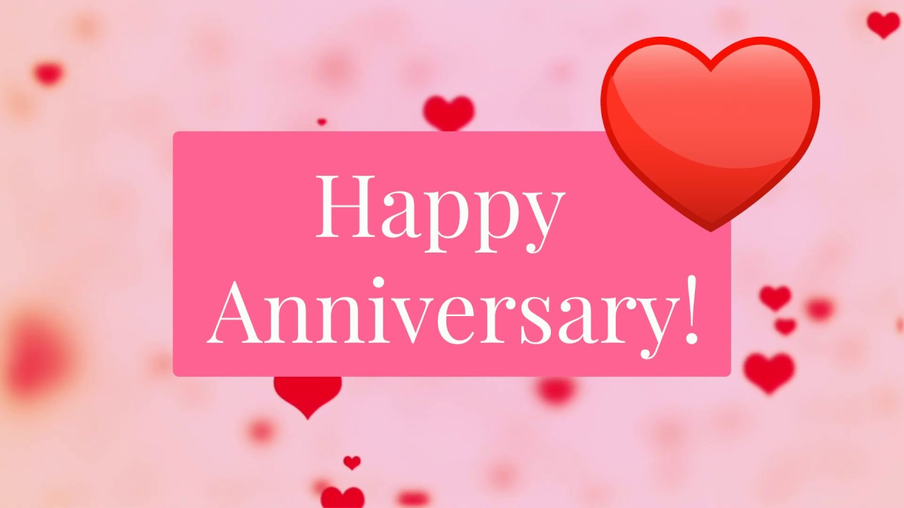 Happy Anniversary Wishes Romantic Video Free Download Youtube