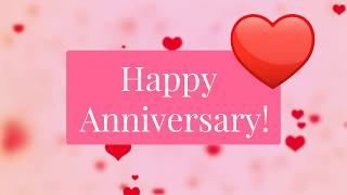 Download this very romantic happy anniversary video and send it to the love of your life celebrate wedding anniversary. it's best way share ha...