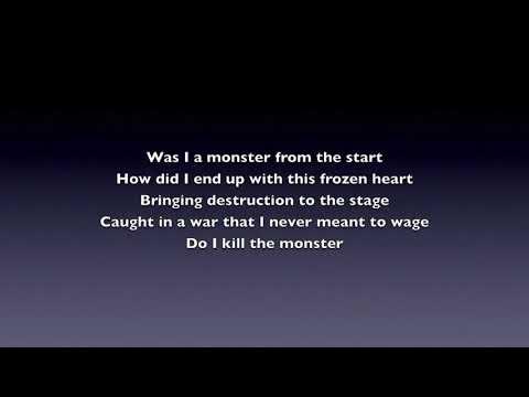 """Monster (from """"Frozen: The Broadway Musical"""") (Male Key Karaoke)"""