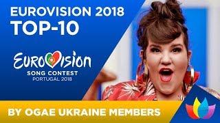 OGAE UKRAINE: TOP-10 of Eurovision 2018 (OGAE Poll Results)