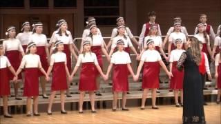 "Старший хор ""Мелодия"" ДМШ им.С.М.Майкапара - Рум, дум, дум"