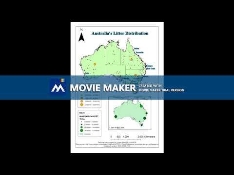 Australia's Litter Distribution