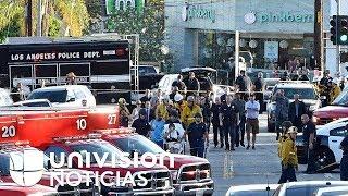 Atrincheramiento con rehenes en supermercado de Los Ángeles termina con una mujer muerta