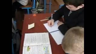 Заняття школи передового досвіду вчителів початкових класів на базі Малинівського НВК