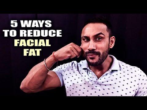 5 ways to reduce facial fat