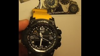 How to change a battery on a digital-analog watch. How to set time on a digital-analog watch
