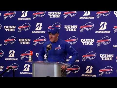 Buffalo Bills Week 7: vs Tampa Bay Bucs - Sean McDermott post game