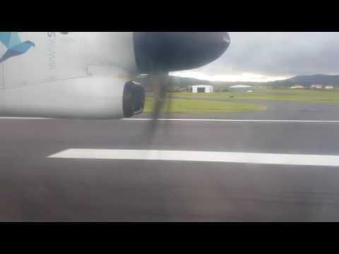 Touchdown at Lajes Air Bases, Terceira, Azores