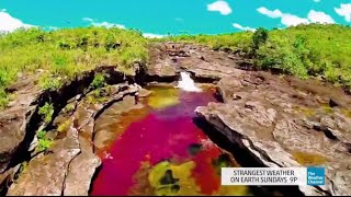 Strangest Weather on Earth: Only Rainbow River in the World!