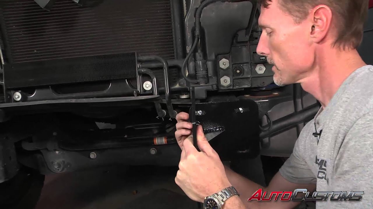 How To Install Iron Cross Base Front Bumper At Autocustoms