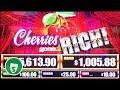 ⭐️ NEW - Cherries Gone Rich slot machine, bonus