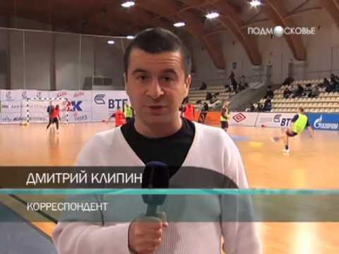 Мини-футбол. Тренировка сборной России в предверии ЧМ