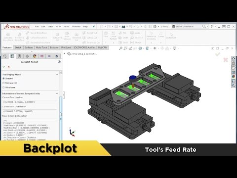 Backplot - What's New in BobCAM for SOLIDWORKS™