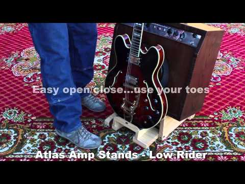 Atlas Amp Stands Low Rider Demo