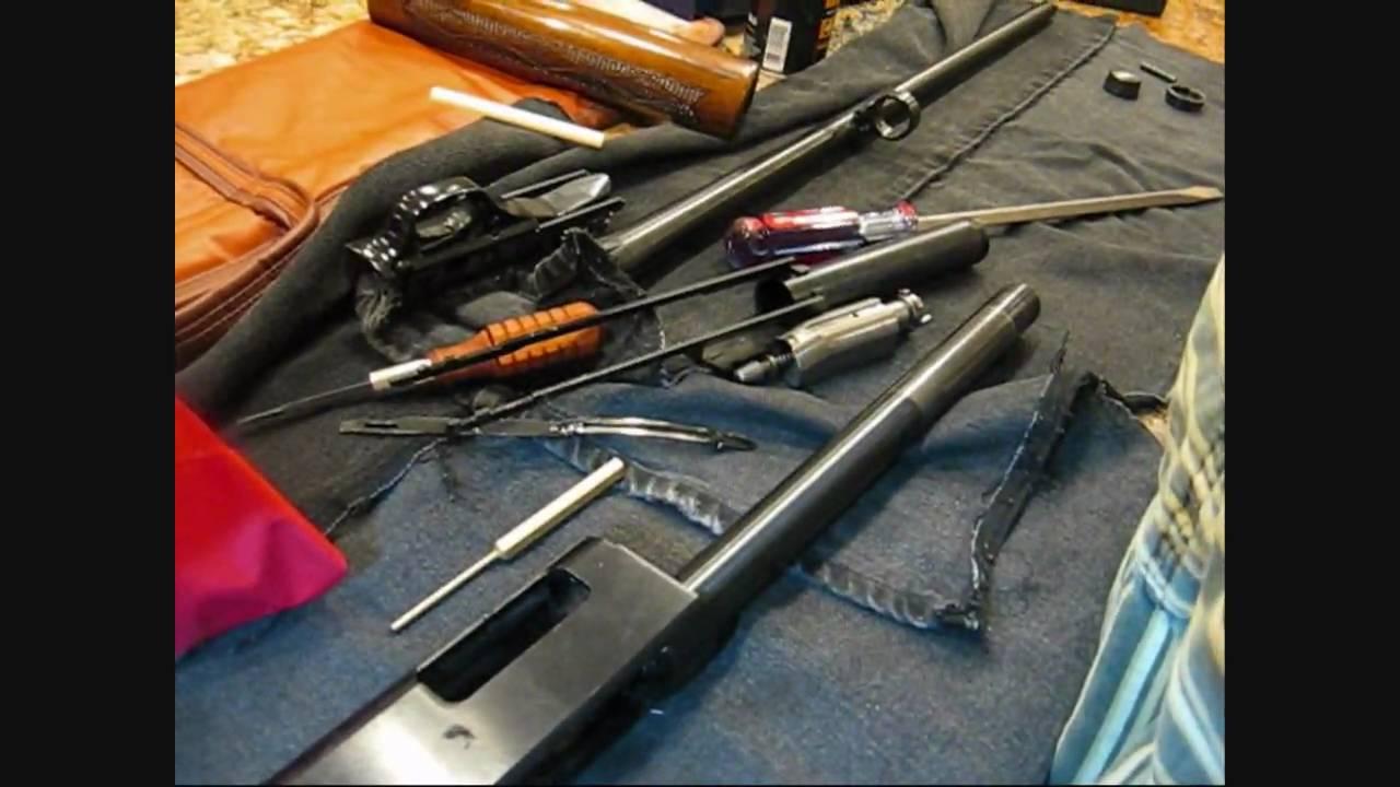 Winchester Model 1200 shotgun disassembly field strip  YouTube